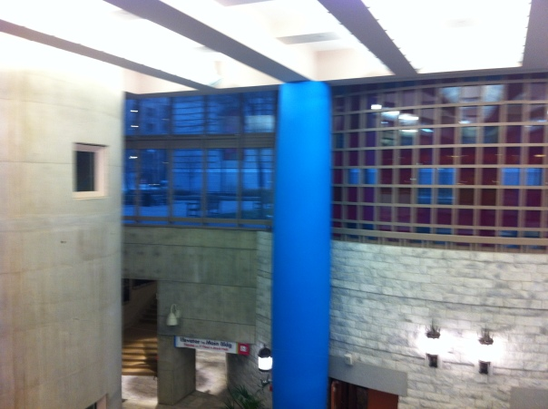 Lobby of Louis Stokes Wing