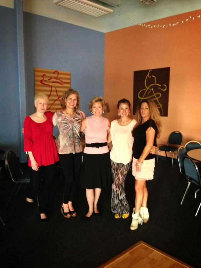 The women of Avon Ballroom