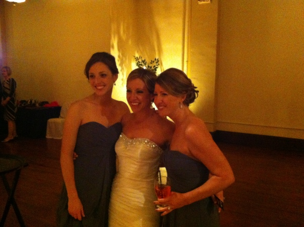 The Bride and her sisters...