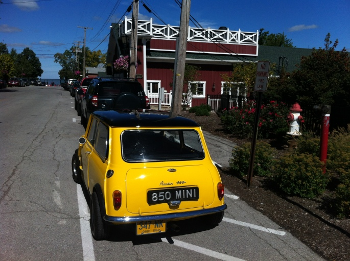 Mini in Vermilion