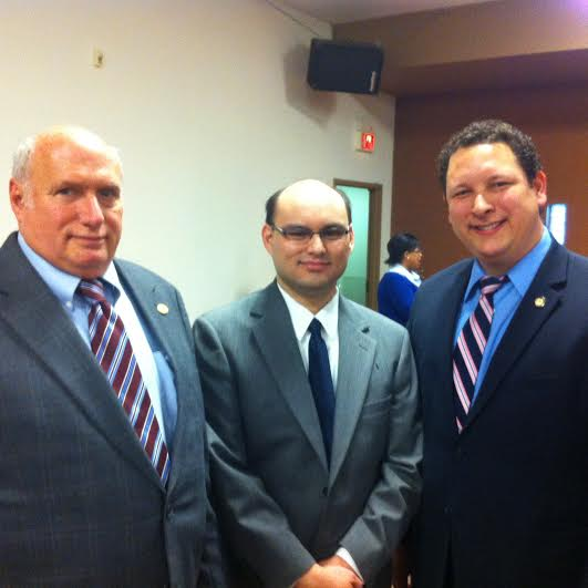 Charles Pervo, Paul Adams, and Dan Ramos