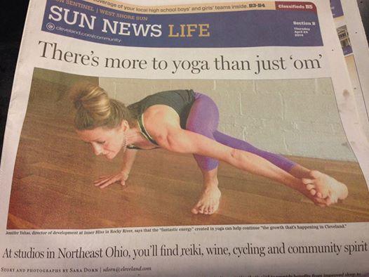 My yogi in the news!