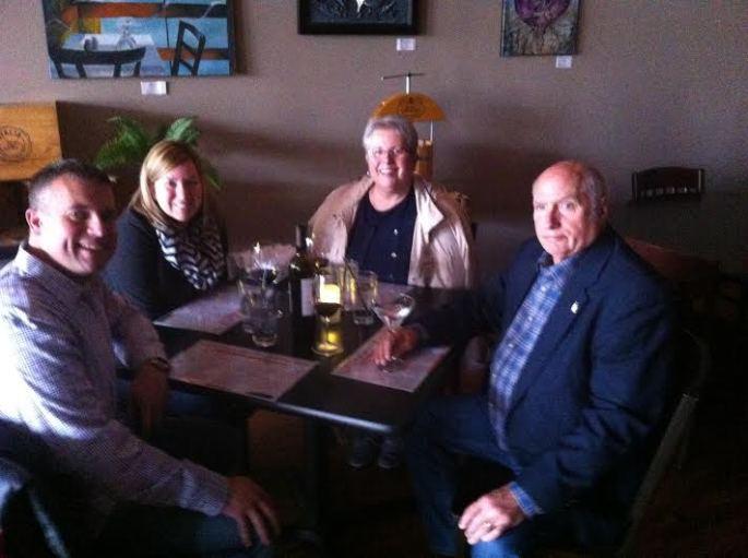 Allen, Sarah, Sharon, I Clifton Martine and Wine Bar