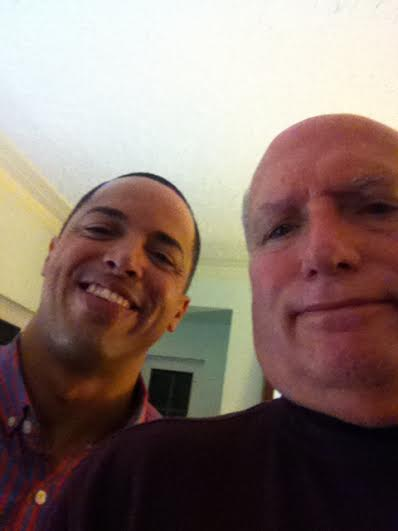 My First Selfie!  (withGerardo Colon)
