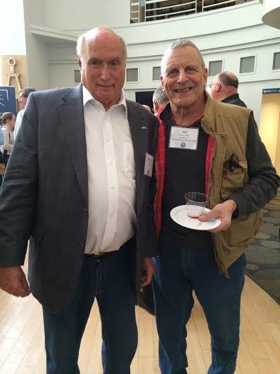 With Prof. Joe Prahl