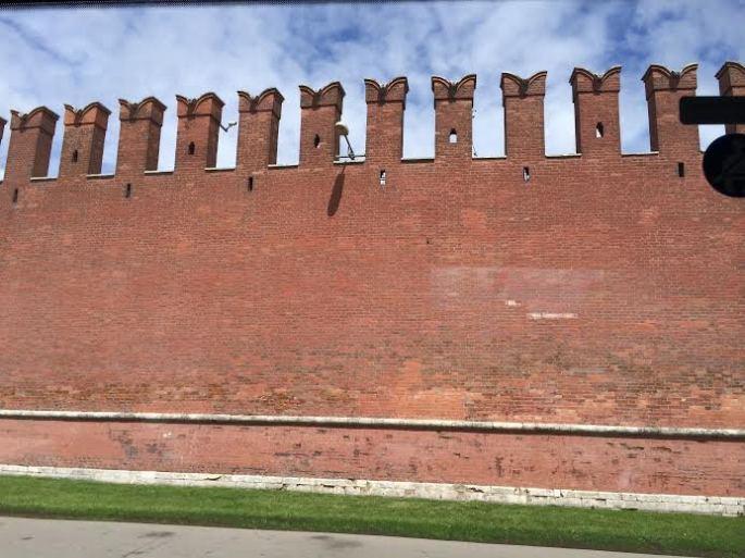 old Kremlin wall