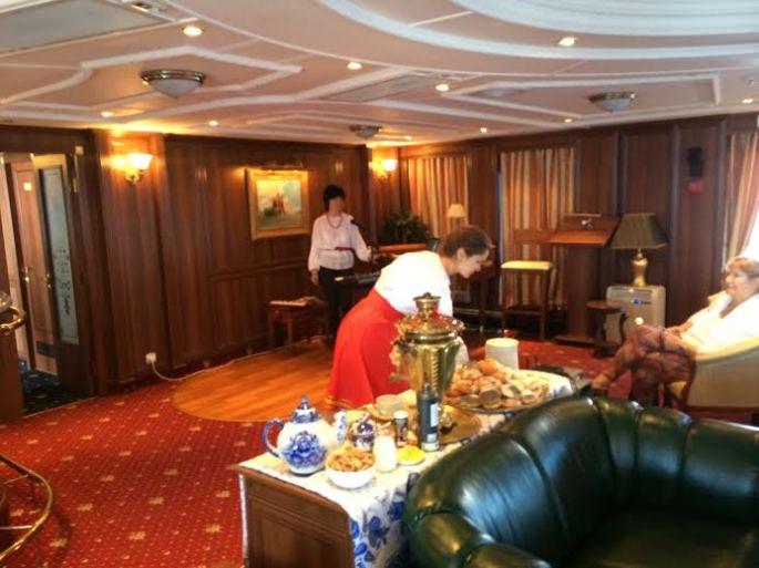 Russian tea service