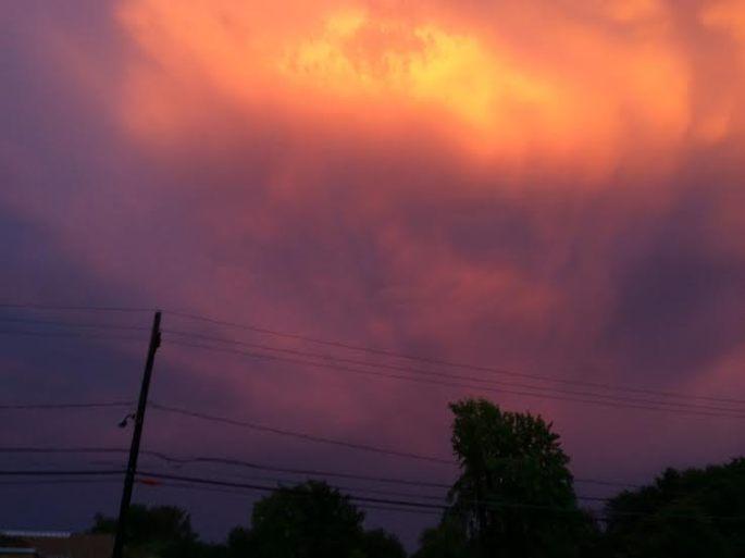 Tuesday sky