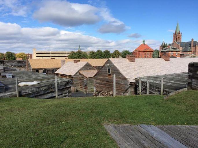 Fort Stanwix - exterior