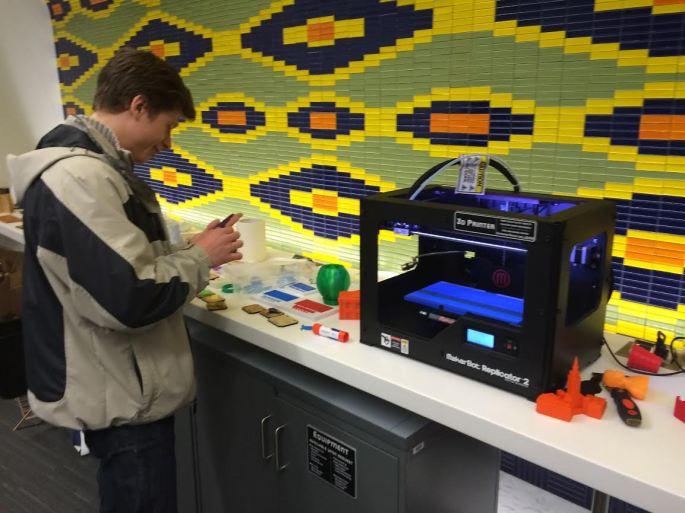 Daniil by a 3D printer.