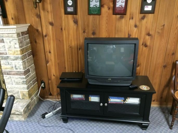 new console, old TV