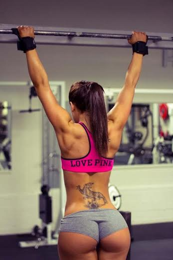 strong lower back
