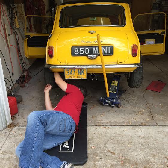 adjusting rear brakes