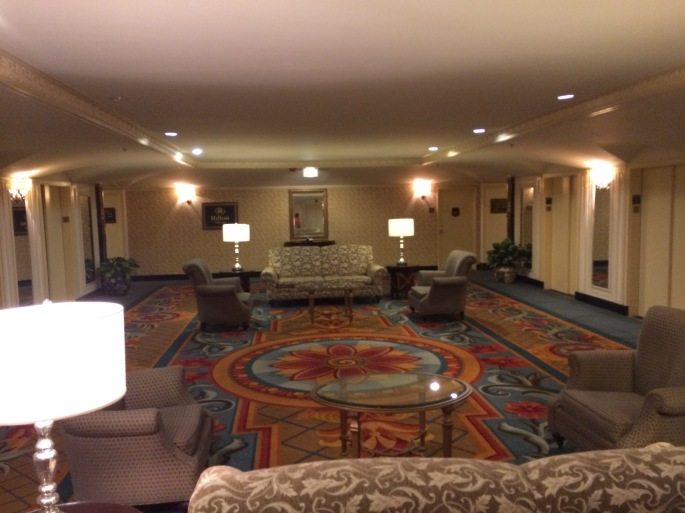The ante room to our suite