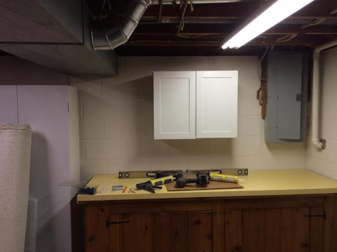 changes in utility room