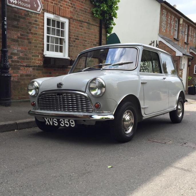Here is what Mini looked like when she had been made on 24 April 1960