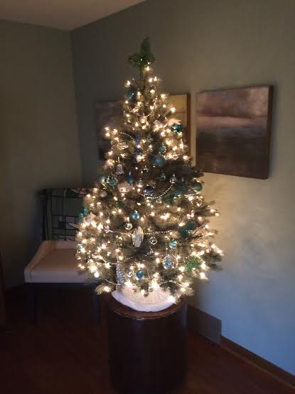 our smaller tree