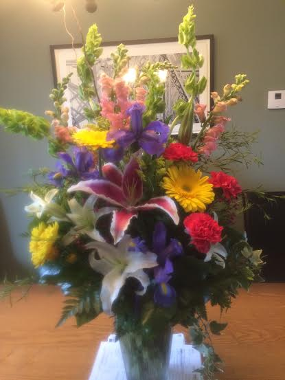 Birthday bouquet for Sharon