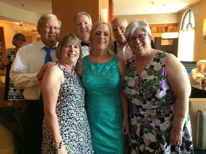 Gary, dave, I, Marcy, Jeanne, and Sharon
