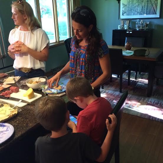 Jen, Katie, Mason, and Carson