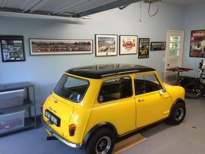 Mini by art wall