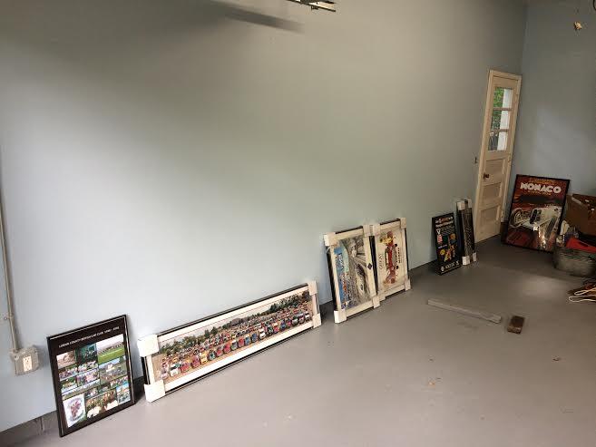 pre gallery wall