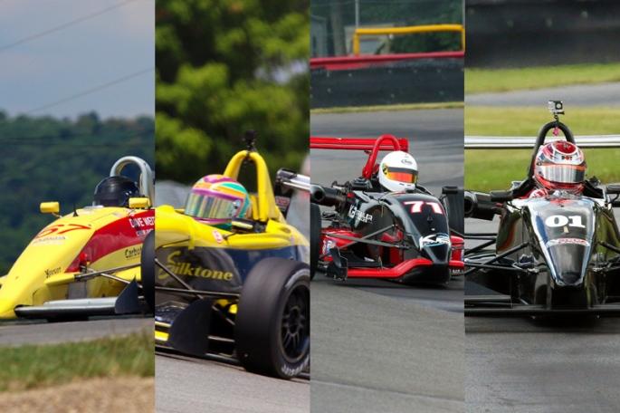 F2000 race at Mid-Ohio Sat/sun
