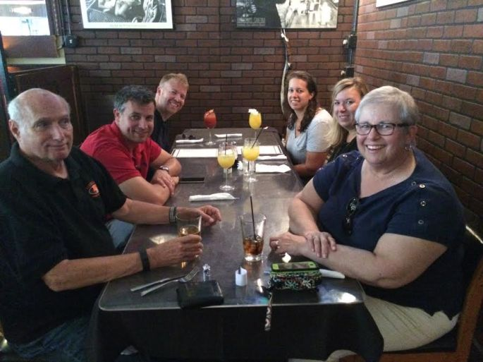 six for brunch at the West End Tavern