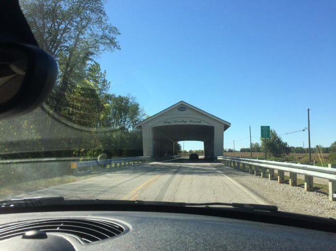 A new covered bridge!