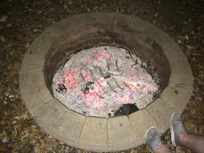 in firepit
