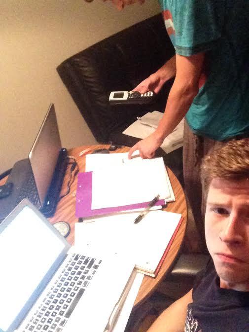 Daniil at work...
